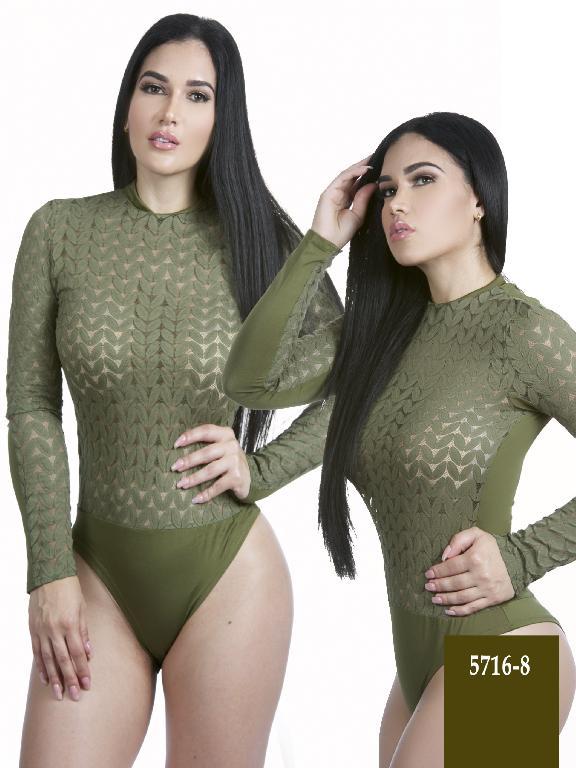 Body Moda Azulle Fashion  - Ref. 256 -5716-8 Verde