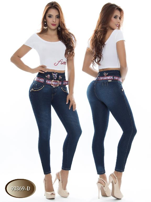 Jeans Levantacola Colombiano Do Jeans - Ref. 248 -93369 D
