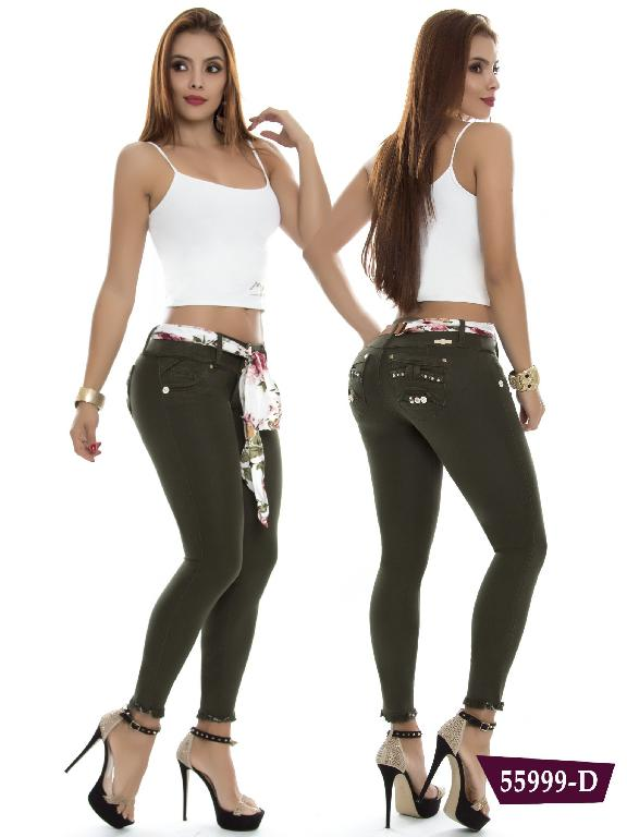 Jeans Levantacola Colombiano Do Jeans  - Ref. 248 -55999 D