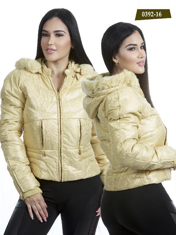 Chaqueta Moda Azulle Fashion  - Ref. 256 -0392-16 Beige