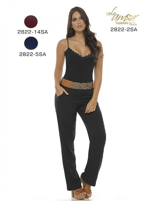 Enterizo Moda Colombiana Solo Amor - Ref. 246 -2822-5 Azul