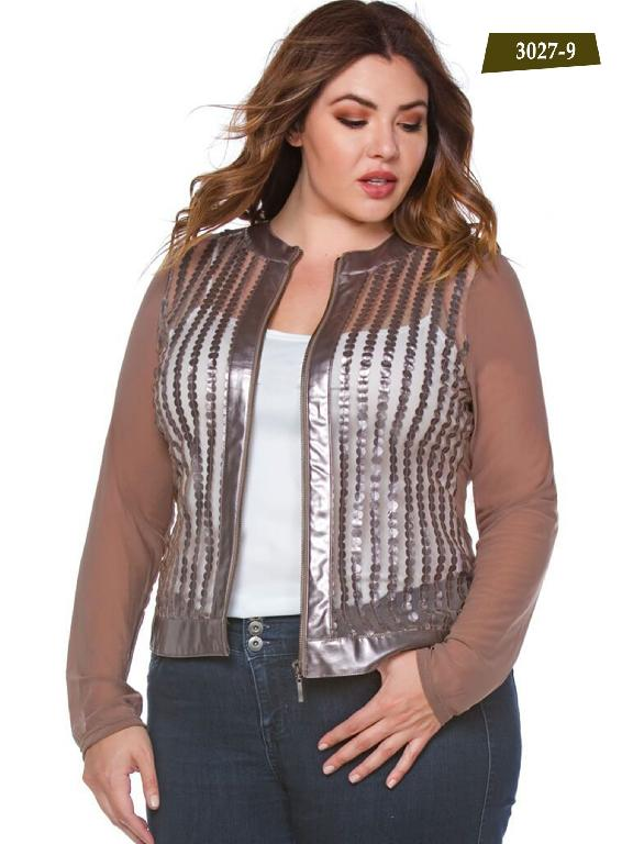 Chaqueta Moda Azulle Fashion  - Ref. 256 -3027-9 Cafe