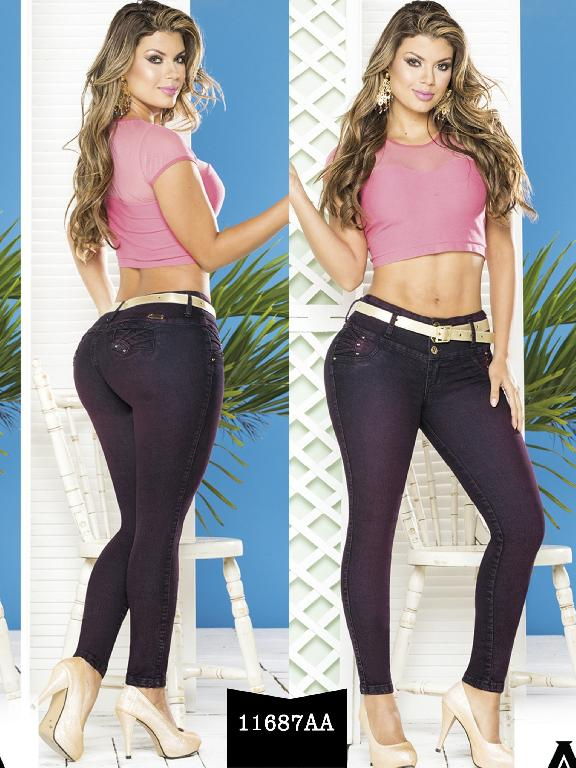 Colombian Butt lifting Jeans - Ref. 235 -11687 AA