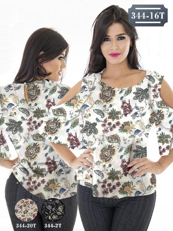 Blusa Moda Colombiana Tabbachi - Ref. 236 -344-20T Rosado