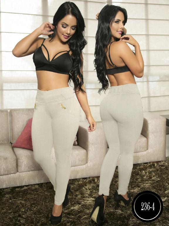 Pantalon Casual Comfort Thaxx - Ref. 119 -236-4 Beige