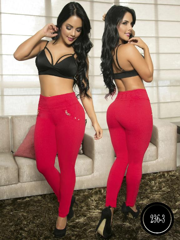 Pantalon Casual Comfort Thaxx - Ref. 119 -236-3 Rojo