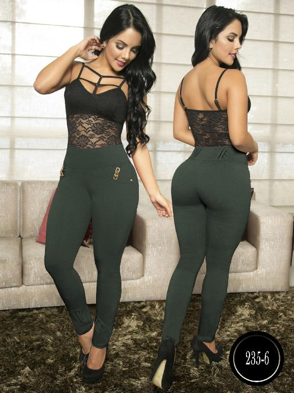 Pantalon Casual Comfort Thaxx - Ref. 119 -235-6 Verde