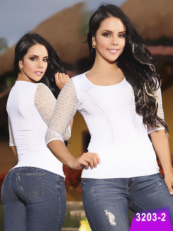 Blusa Moda Thaxx - Ref. 119 -3203-2
