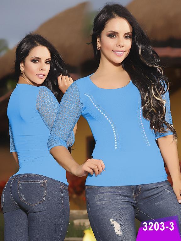 Blusa Moda Thaxx - Ref. 119 -3203-3