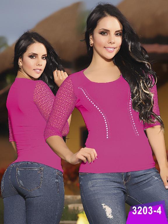 Blusa Moda Thaxx - Ref. 119 -3203-4