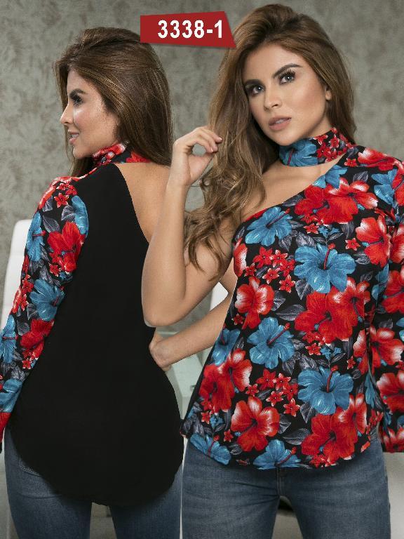 Blusa Moda Colombiana Thaxx  - Ref. 119 -3338-1 Rojo