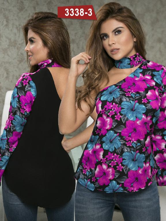 Blusa Moda Colombiana Thaxx  - Ref. 119 -3338-3 Morado