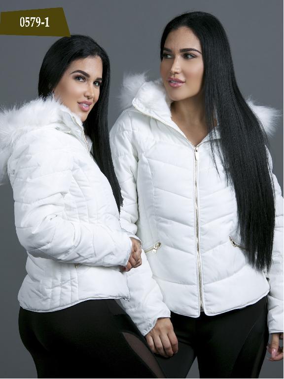 Chaqueta Moda Azulle Fashion  - Ref. 256 -0579-1 Blanco