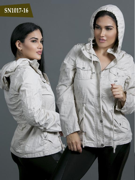 Chaqueta Moda Azulle Fashion - Ref. 256 -SN1017-16 Beige