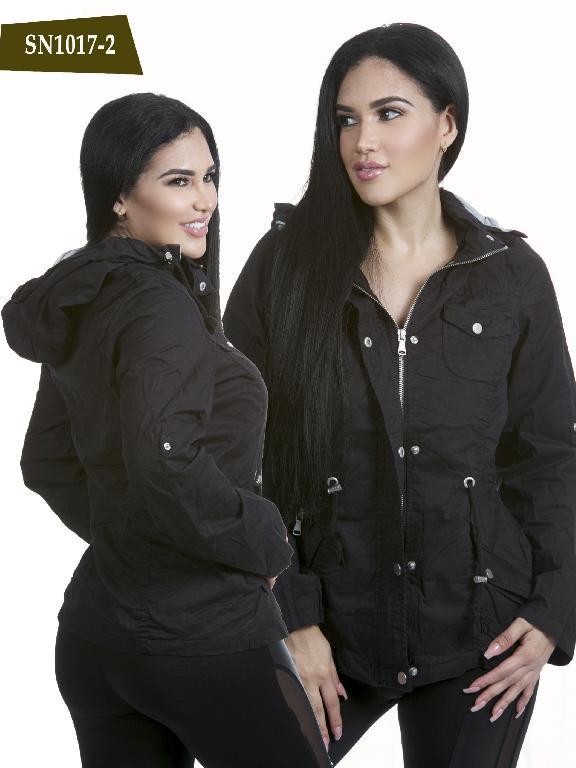 Chaqueta Moda Azulle Fashion - Ref. 256 -SN1017-2 Negro