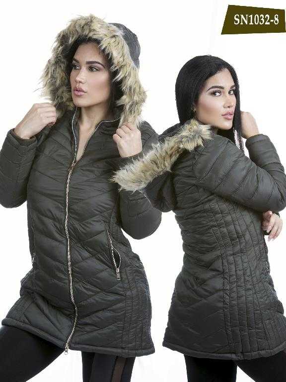 Chaqueta Moda Azulle Fashion - Ref. 256 -SN1032-8 Verde