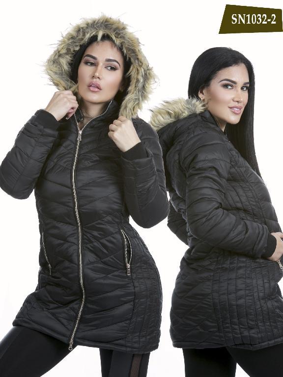 Chaqueta Moda Azulle Fashion - Ref. 256 -SN1032-2 Negro