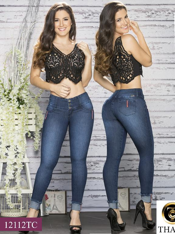 Jeans LevantaCola Colombiano Thaxx Classic - Ref. 119 -12112 TC