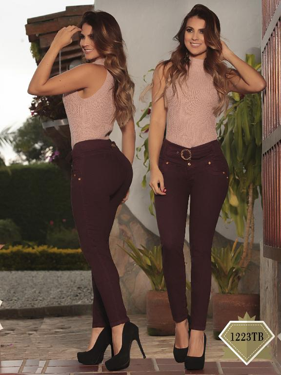 Jeans Levantacola Colombiano Thaxx Boutique - Ref. 119 -1223-TB