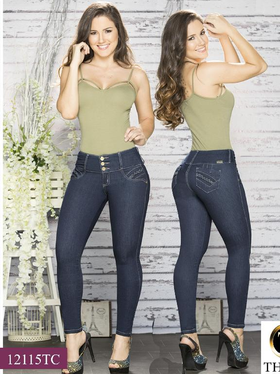 Jeans LevantaCola Colombiano Thaxx Classic - Ref. 119 -12115 TC