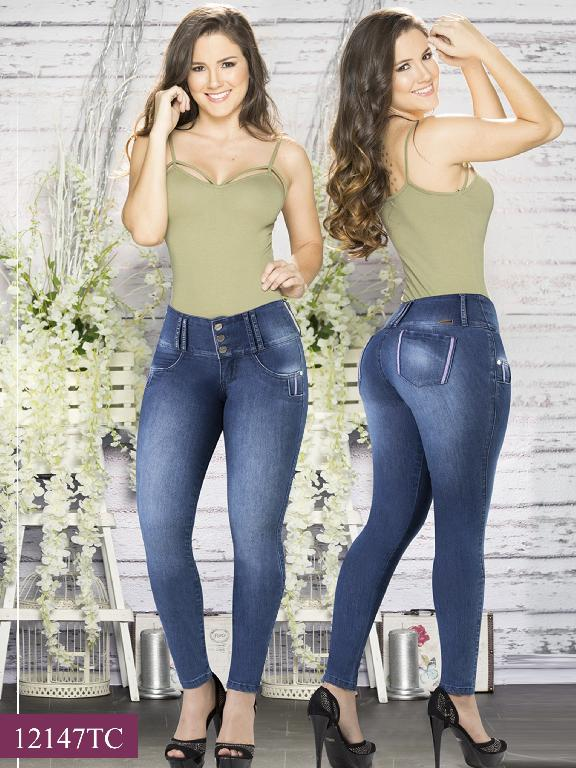 Jeans LevantaCola Colombiano Thaxx Classic - Ref. 119 -12147 TC