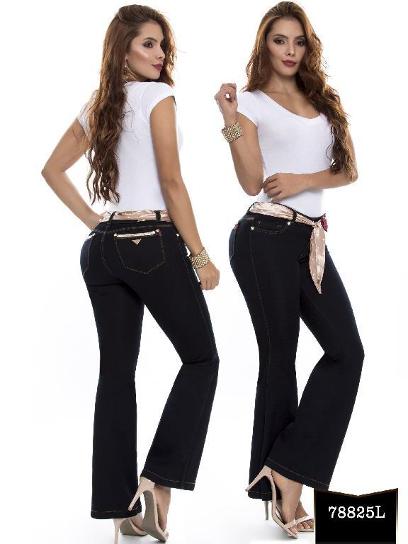 Jeans Levantacola Colombiano Lujuria - Ref. 243 -78825 L
