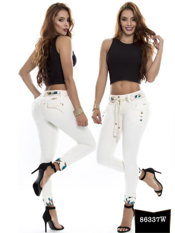 Jeans Levantacola Colombiano Wow - Ref. 243 -86337 W