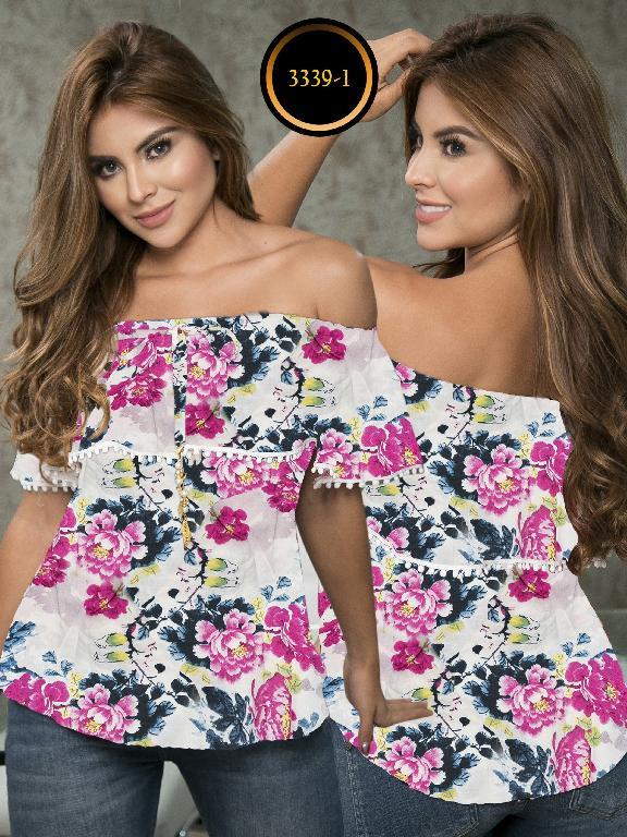 Blusa Moda Colombiana Thaxx  - Ref. 119 -3339-1 Morado