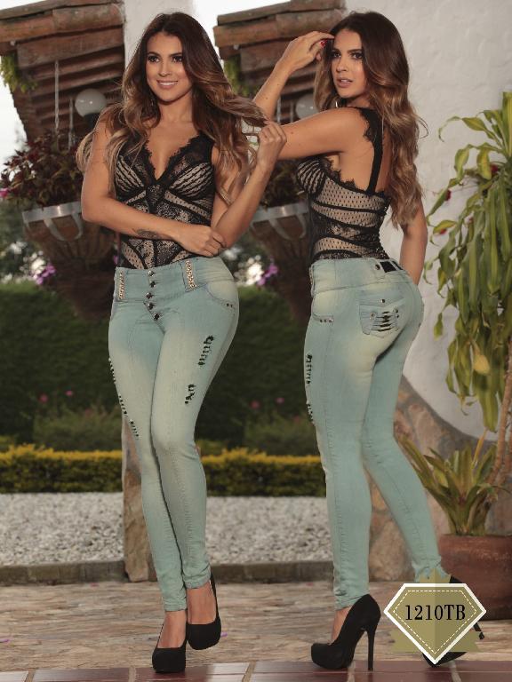 Jeans Moda Colombiana Thaxx Boutique - Ref. 119 -1210TB