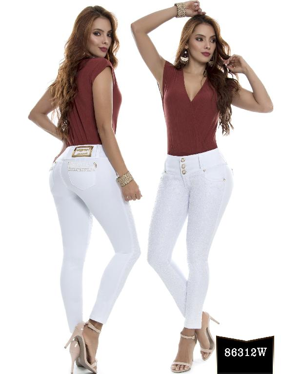 Jeans Levantacola Colombiano Wow - Ref. 243 -86312 W