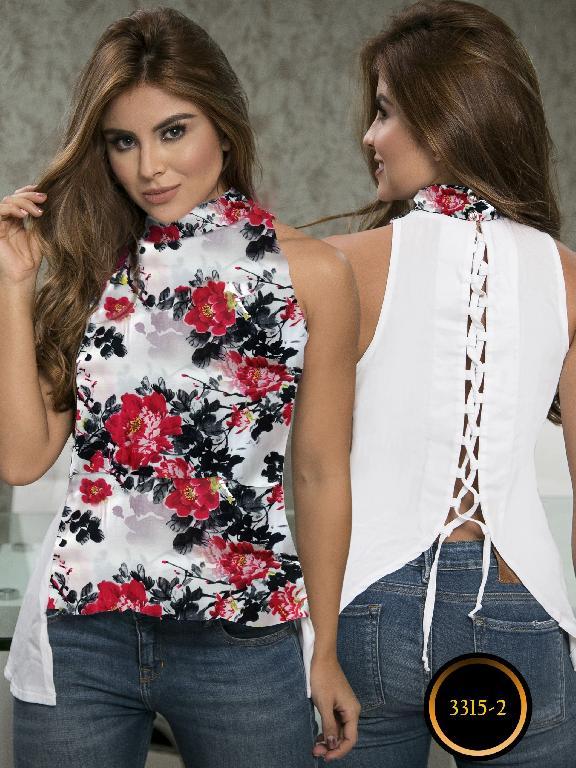 Blusa Moda Colombiana Thaxx  - Ref. 119 -3315-2 Rojo