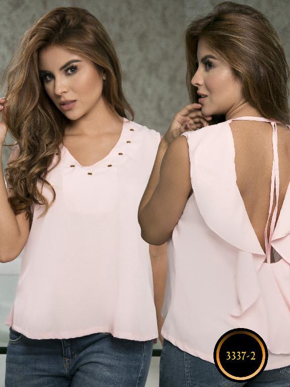Blusa Moda Colombiana Thaxx  - Ref. 119 -3337-2 Rosado