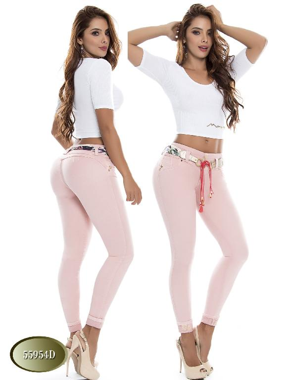 Jeans Levantacola Colombiano Do  - Ref. 248 -55954 D