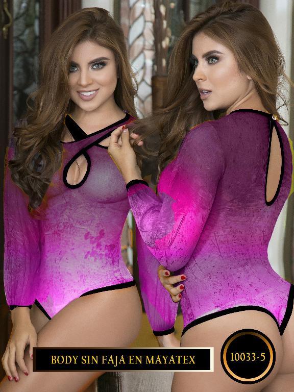 Body Moda Colombiano Capellini - Ref. 114 -10033-5 Morado