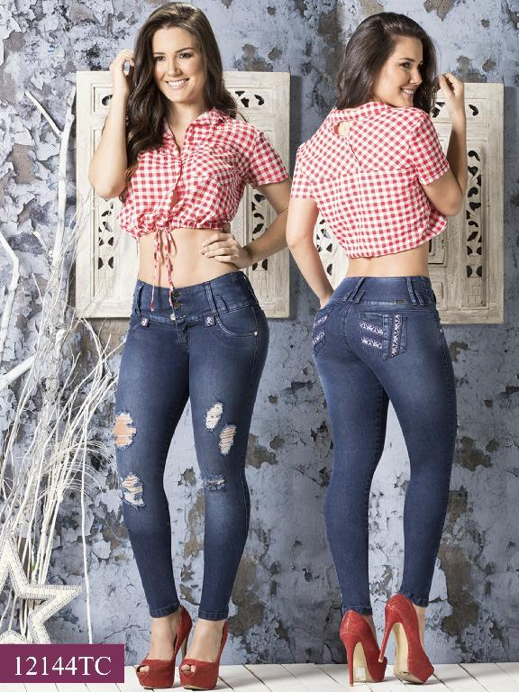 Jeans LevantaCola Colombiano Thaxx Classic - Ref. 119 -12144 TC