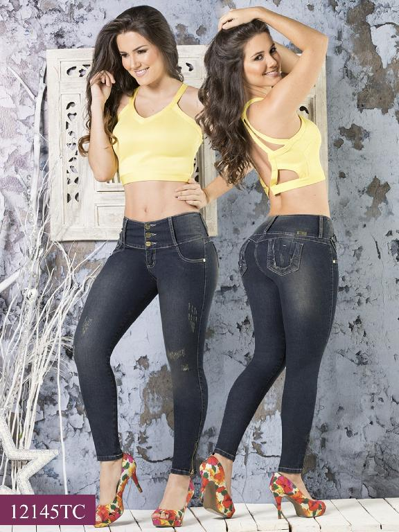 Jeans LevantaCola Colombiano Thaxx Classic - Ref. 119 -12145 TC