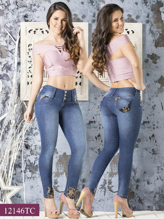 Jeans LevantaCola Colombiano Thaxx Classic - Ref. 119 -12146 TC