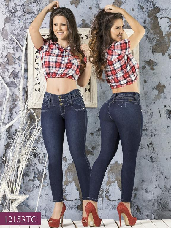 Jeans LevantaCola Colombiano Thaxx Classic - Ref. 119 -12153TC