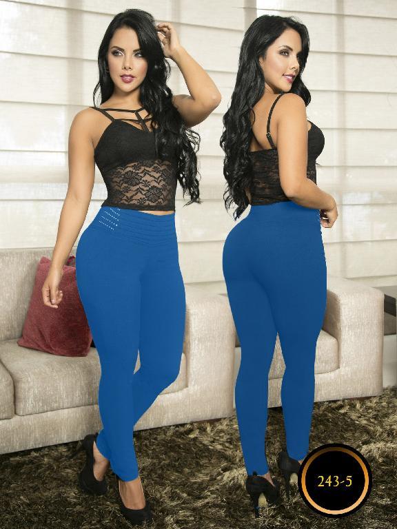 Pantalon Casual Comfort Thaxx - Ref. 119 -243-5 Azul