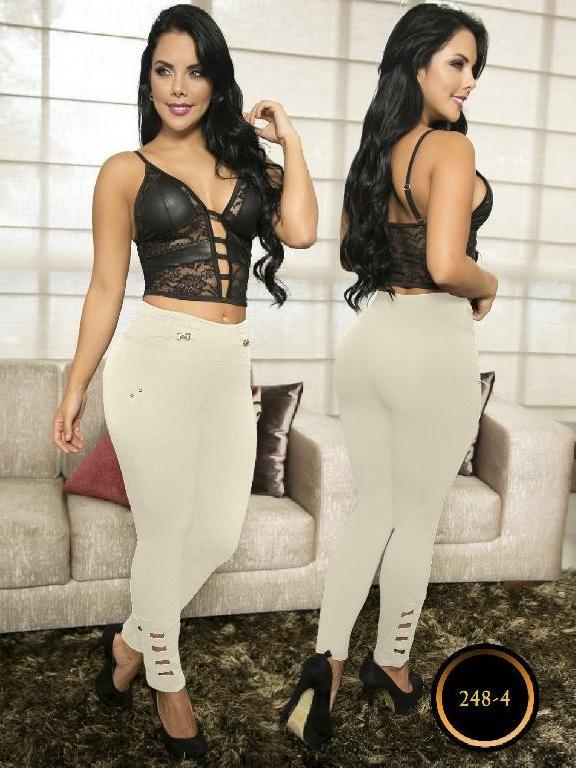 Pantalon Casual Comfort Thaxx - Ref. 119 -238-4 Beige