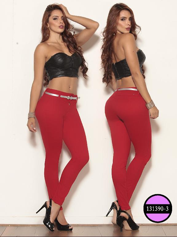 Colombian Jeans Butt LIfting Red Ushuaia - Ref. 260 -131390-3 Rojo