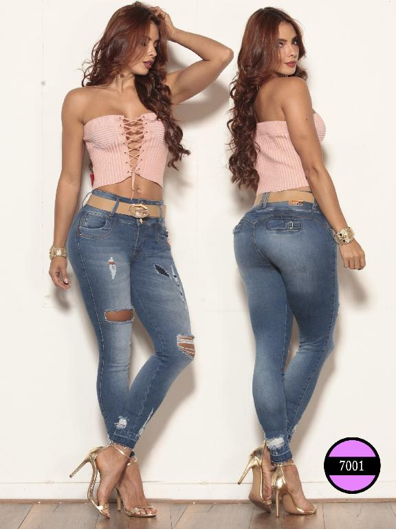 Jeans Levantacola Colombiano Gutie - Ref. 260 -4A7001