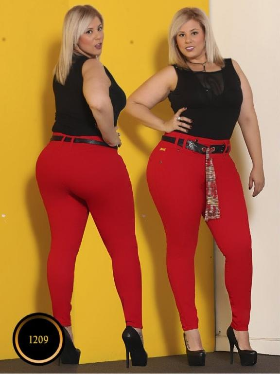 Jeans Moda Colombiana Thaxx Boutique - Ref. 119 -1209 Size Plus