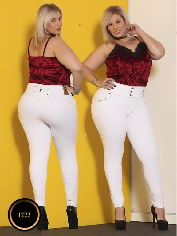 Jeans Moda Colombiana Thaxx Boutique - Ref. 119 -1222 Size Plus