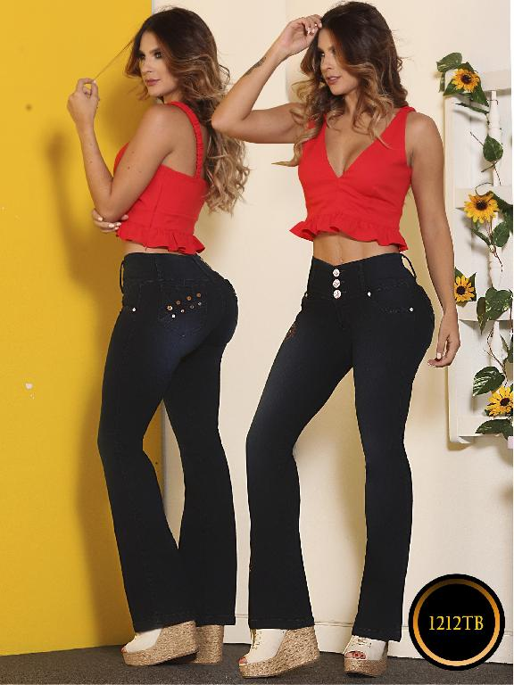 Jeans Moda Colombiana Thaxx Boutique - Ref. 119 -1212 TB