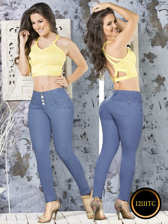 Jeans LevantaCola Colombiano Thaxx Classic - Ref. 119 -12111 TC