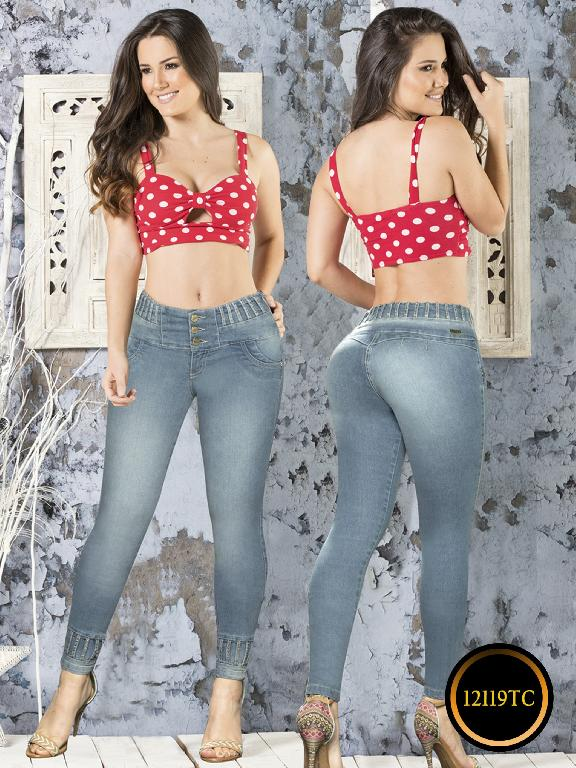 Jeans LevantaCola Colombiano Thaxx Classic - Ref. 119 -12119 TC