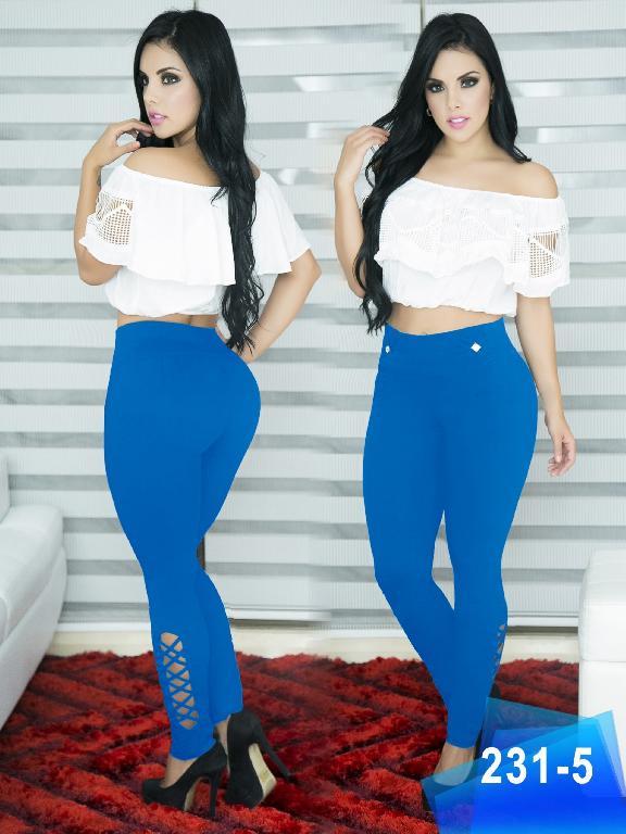 Pantalon Casual Comfort Thaxx - Ref. 119 -231 5 Azul
