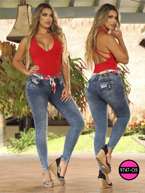 Jeans Levantacola Colombiano Osheas - Ref. 103 -9747 OS
