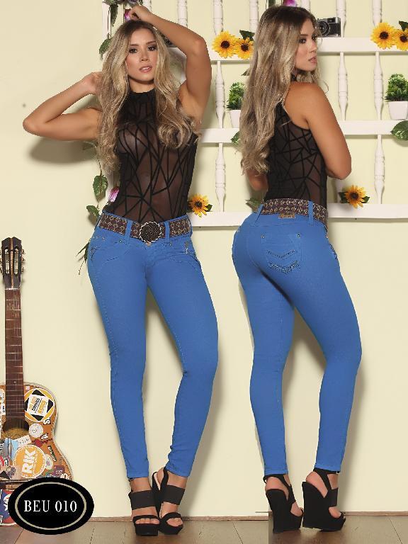 Jeans Levantacola Colombiano Bambu - Ref. 241 -BEU010